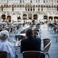 Venice - breakfast at Cafè Florian in St. Mark's Square